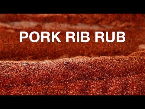 Pork Rib Rub Recipe • ChefSteps #ChefStep #Food #Recipes #Yummy