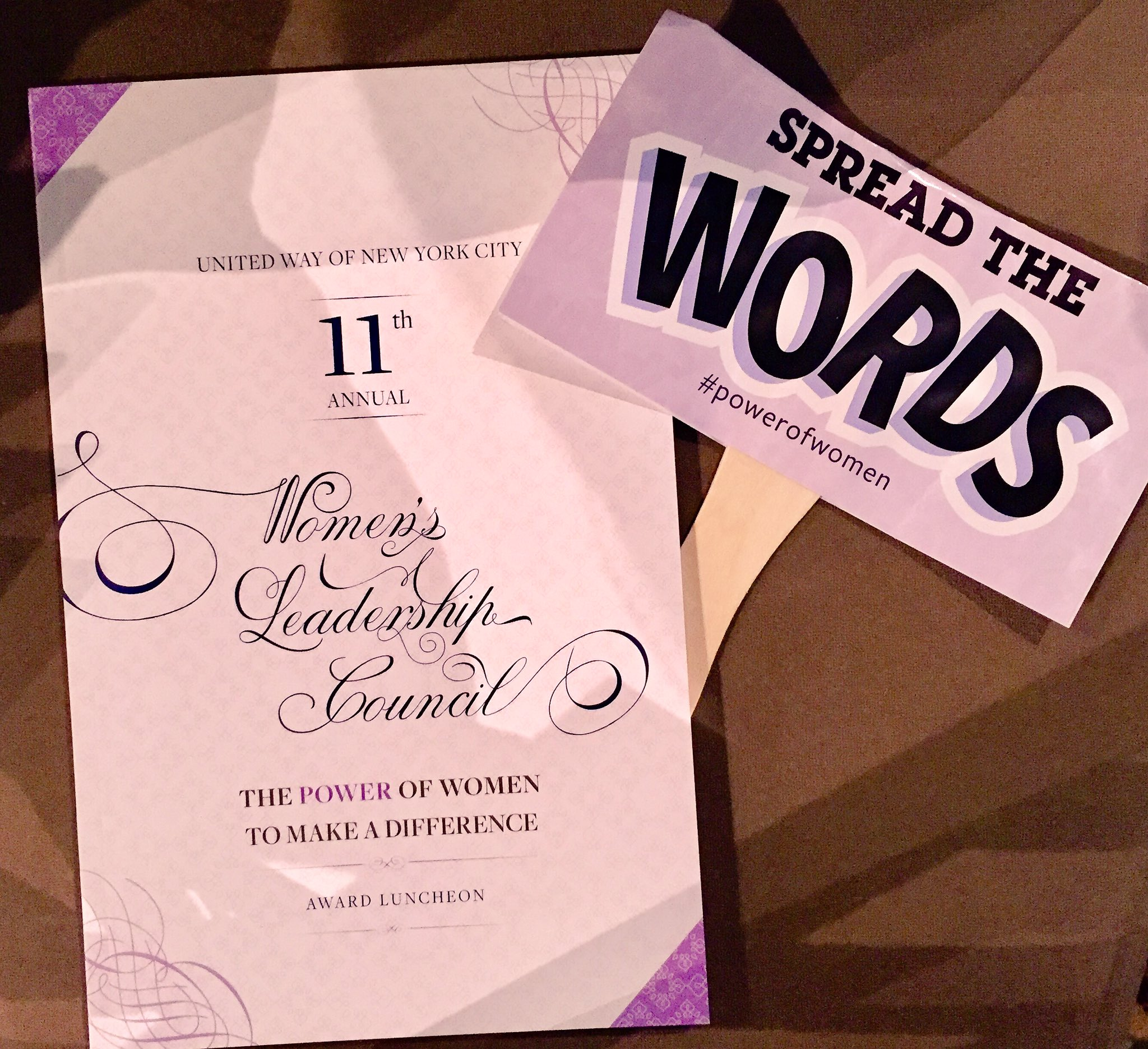 #PowerofWomen show us what word has a made a difference in your life! Take a #selfie with #SpreadTheWords now! Let's see 'em! https://t.co/cDqdv9NBON