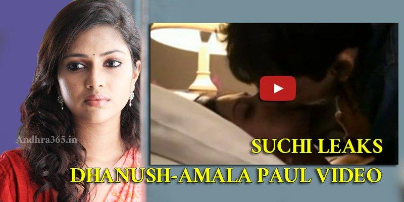 Madhulatha Kumari On Twitter Suchileaks Amalapaul Dhanush Video