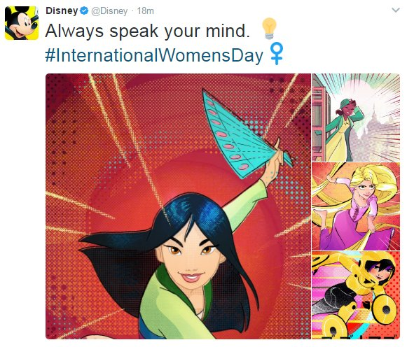 I'd like to know why @Disney's CEO Bob Iger continues to sit on Trump's closed- door business council. #DisneyDisclosure #IWD2017 https://t.co/McqsNN156B