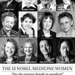 Women who changed the world: The 12 Nobel Medicine Women! #WomensDay #NobelPrize
