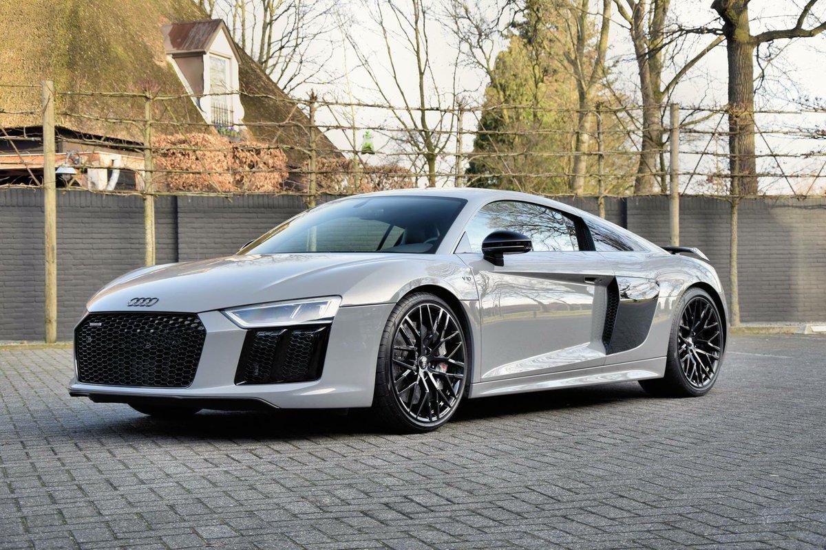 "Audi Daily on Twitter: ""🇩🇪 Nardo Grey Audi R8 V10 Plus"