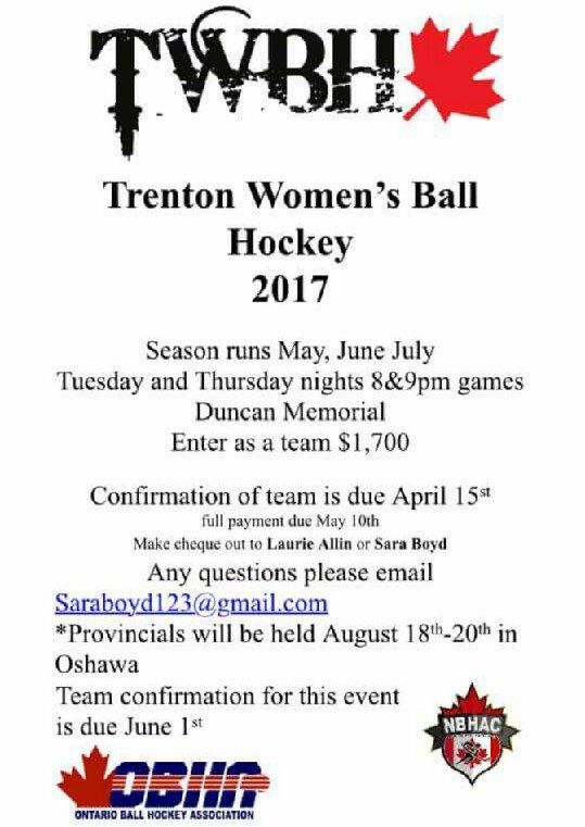 Ontario Ball Hockey on Twitter: