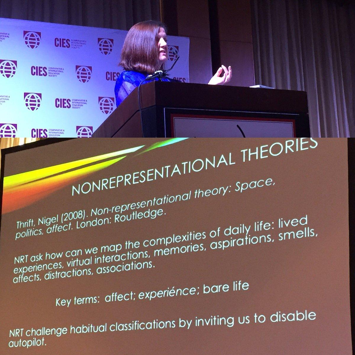 Space Non-Representational Theory Affect Politics