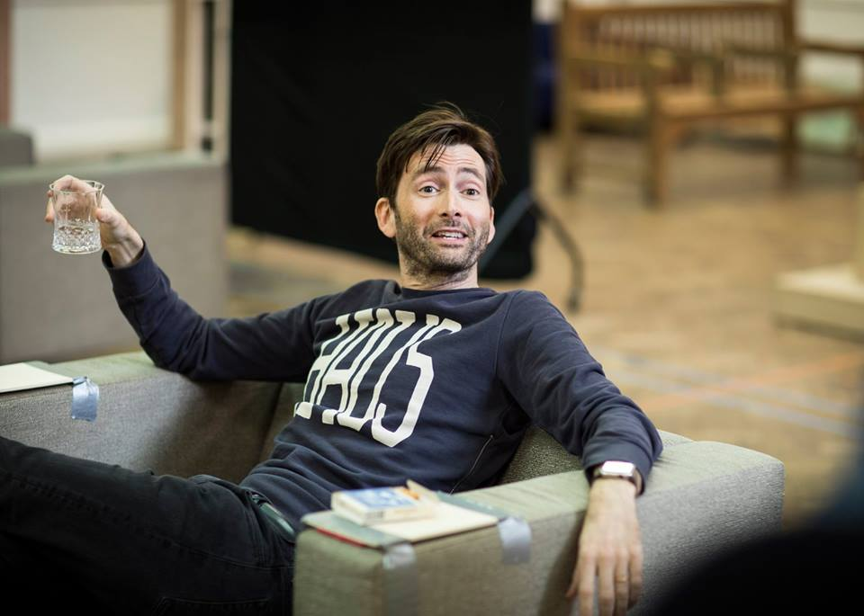 David Tennant in rehearsals for Don Juan In Soho