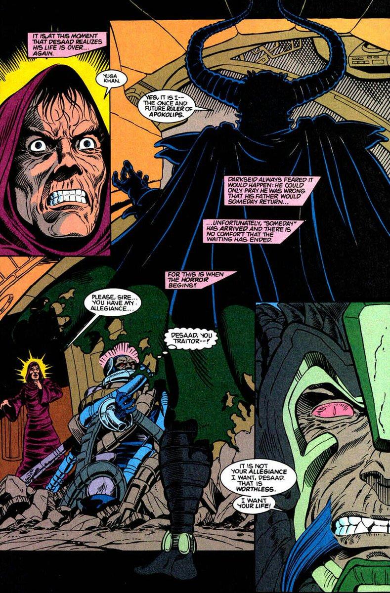 Yuga Khan Darkseid Father