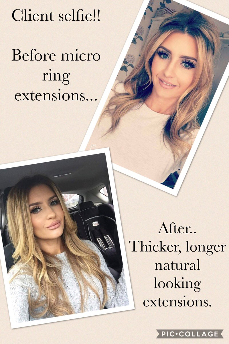 Hair Fantasy On Twitter Now Offering Micro Rings Hair Extensions X