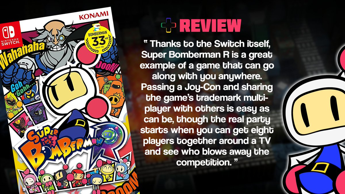 Nintendo Wire On Twitter Super Bomberman R Offers An Enjoyable Switch Us Multiplayer Experience But Leaves Wanting More Read Our Full Review Here