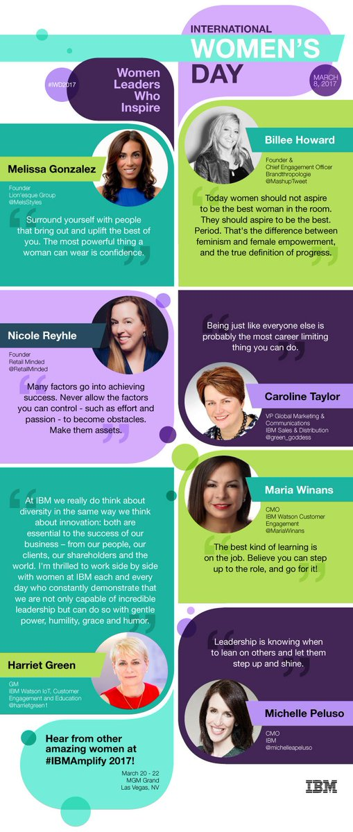 Honored to be in such great company with @IBMforMarketing #influencers for #IWD2017 #BeBoldForChange https://t.co/RoyjuptFv7