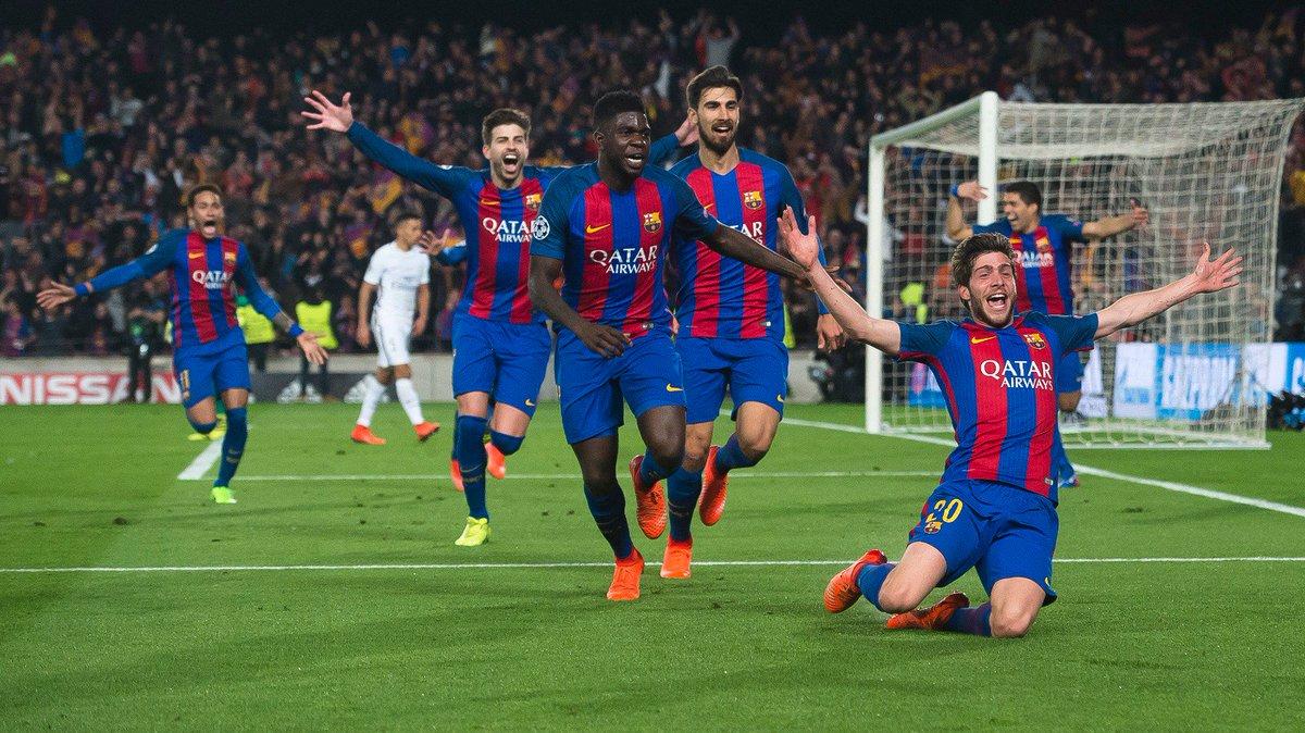 Barcellona Paris SG risultato finale 6-1, il tabellino