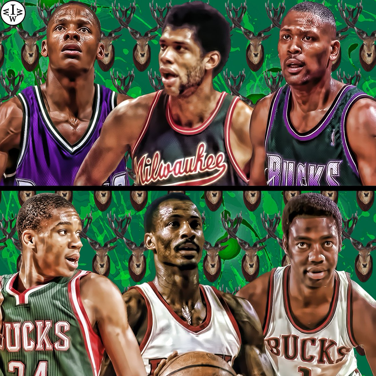 "Who Would Win It on Twitter ""Bucks Ray Allen Kareem Abdul"