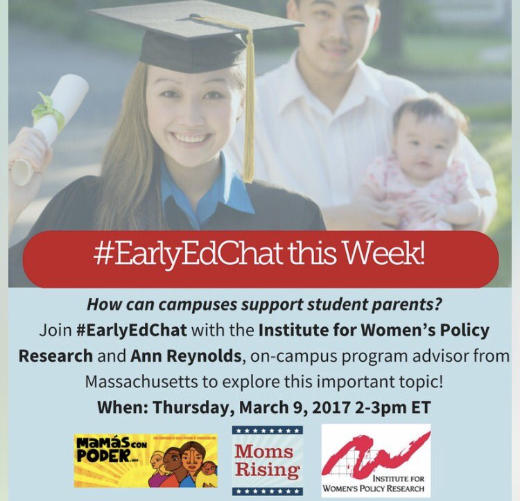 Thumbnail for #EarlyEdChat 3.9.2017 with IWPR & Ann Reynolds