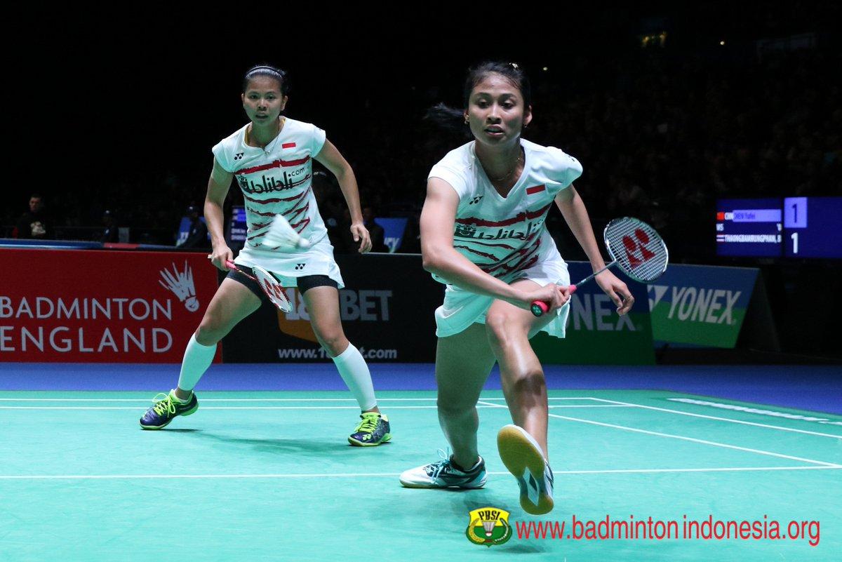 """BADMINTON INDONESIA on Twitter """"Greysia Polii Rizki Amelia"""