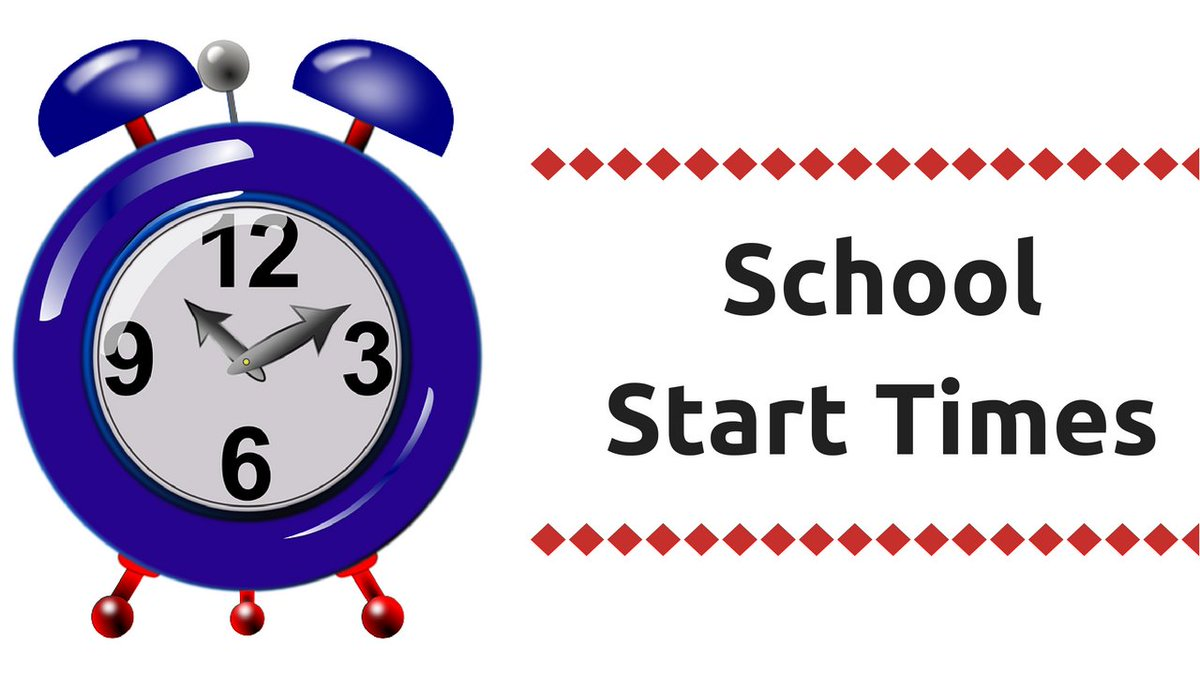 Image result for school starting times clipart