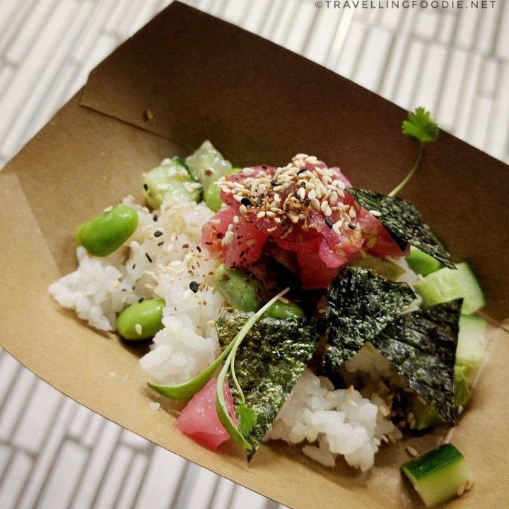 Tuna Poke from Daniel et Daniel at Sustainable Dim Sum by Drink Inc. Events