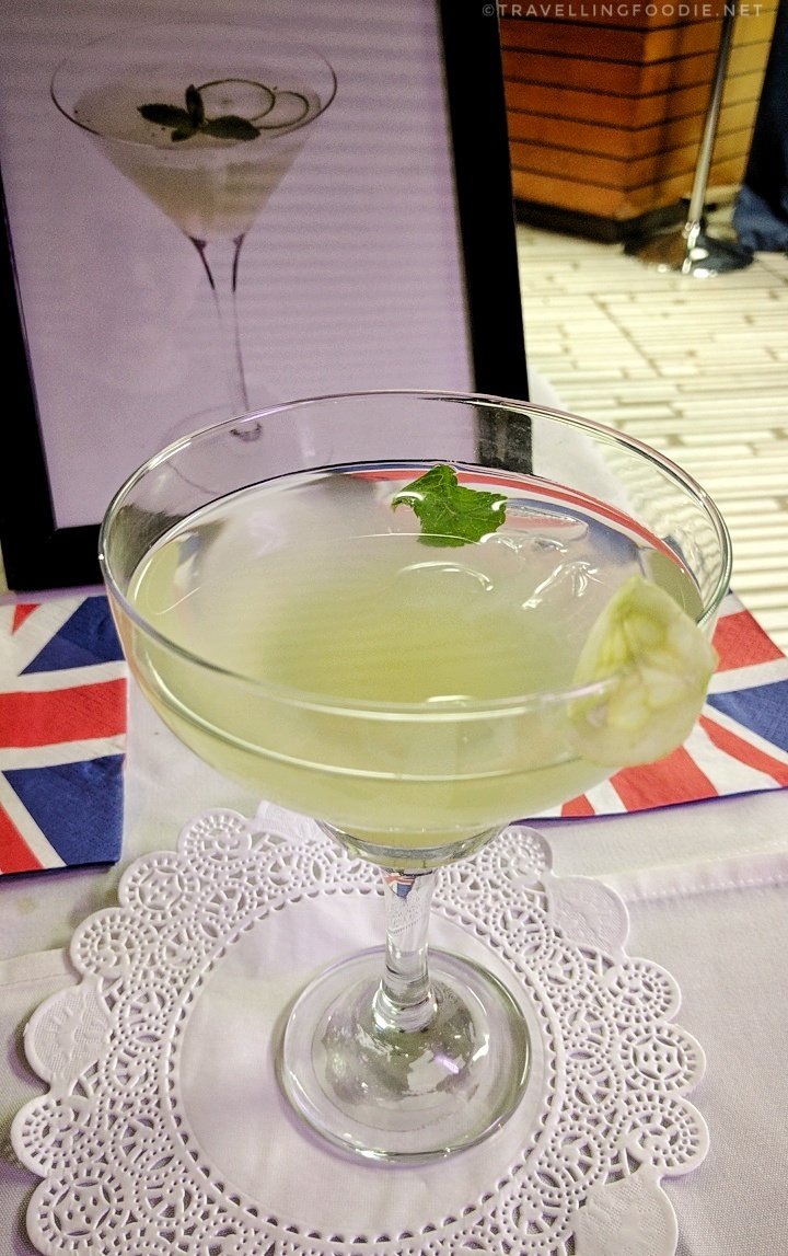 Pepino Royal Mocktail from George Brown College at Sustainable Dim Sum by Drink Inc. Events