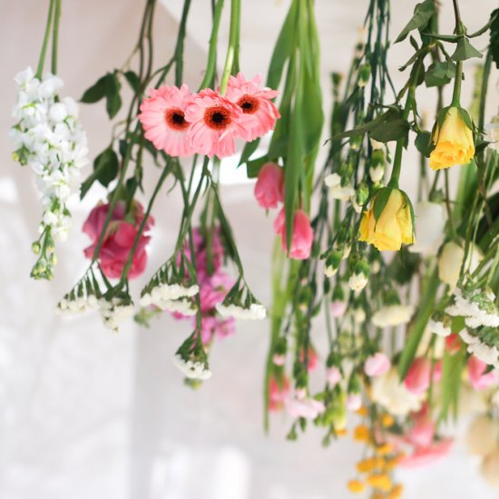 Hanging Flowers Decoration