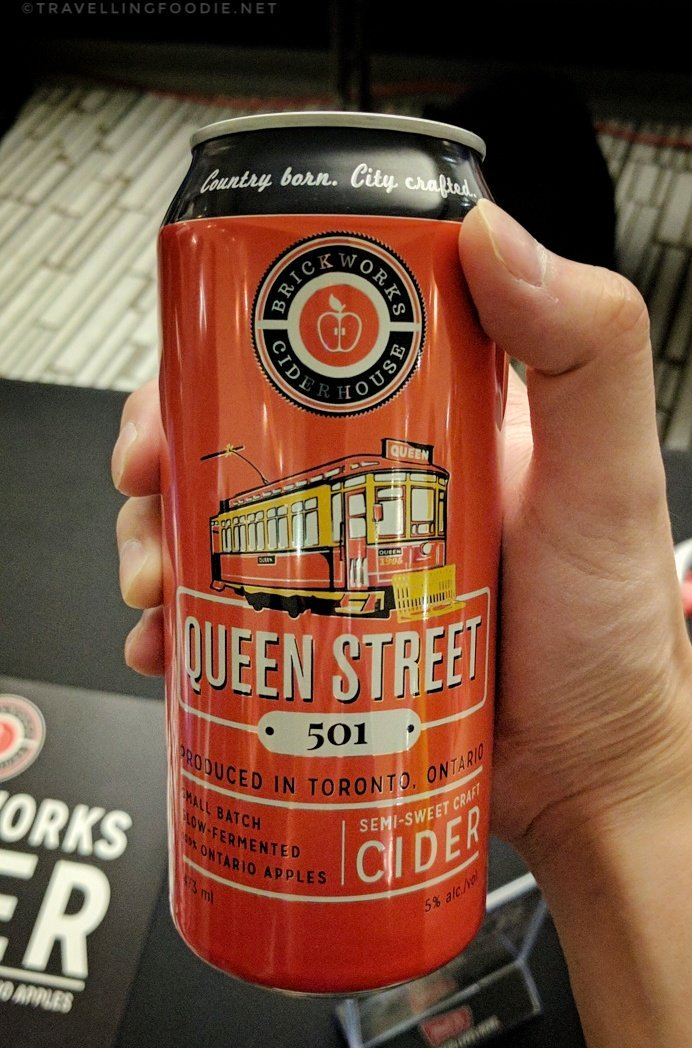 Semi-sweet Craft Cider from Brickworks Ciderhouse at Sustainable Dim Sum by Drink Inc. Events