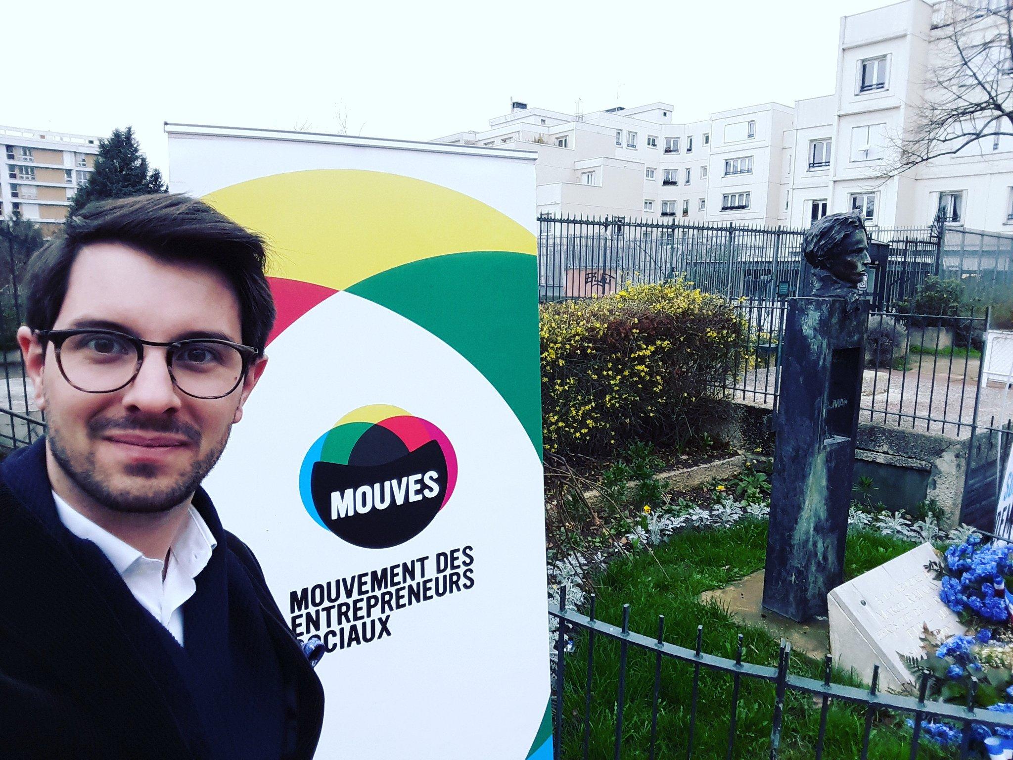 Démarrage du Grand Rassemblement du @Mouves_ES en présence d'Olympe de Gouges #noussommesdemain #jollyclick https://t.co/2hH1ECKXJ8