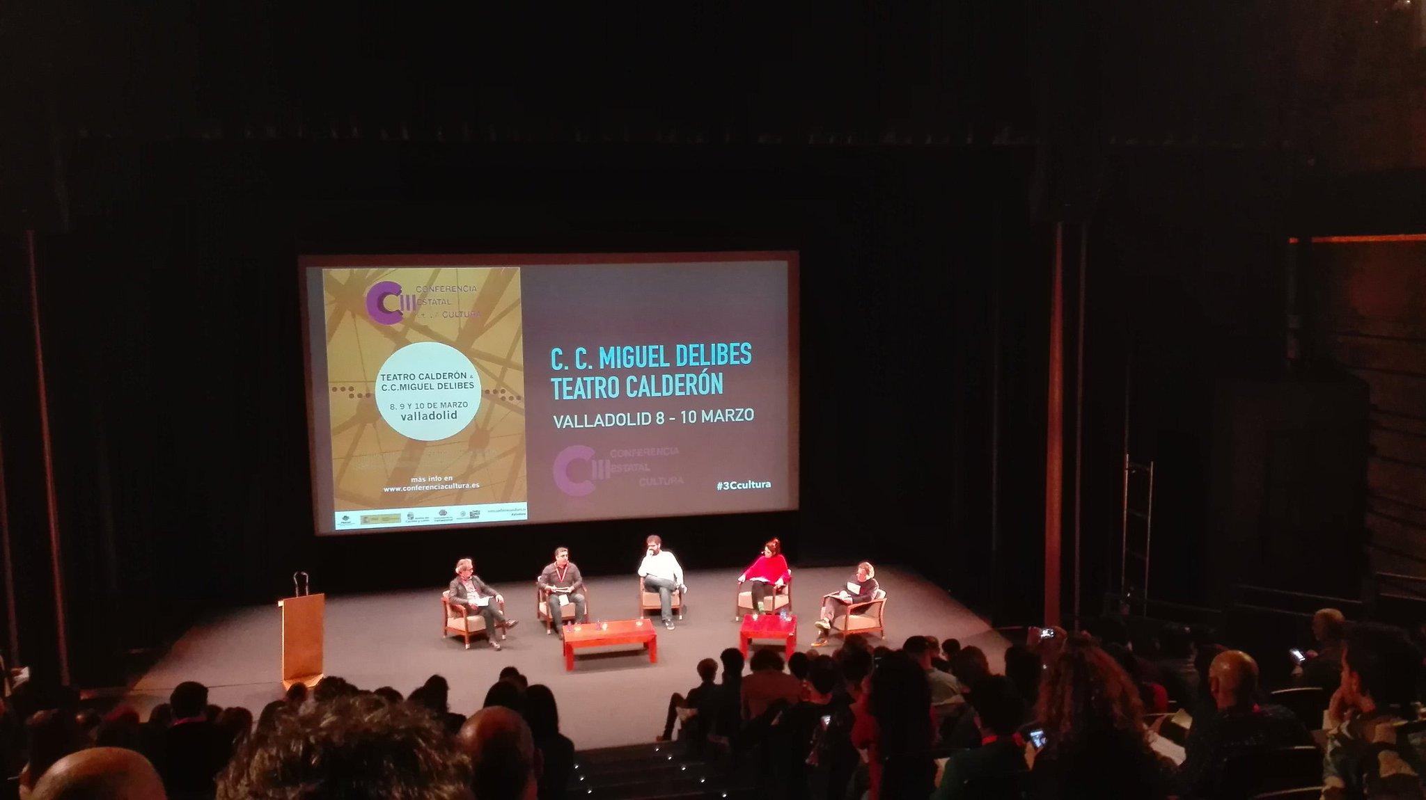 """Manuel J. González: """"El espacio cultural es una oportunidad para la participación ciudadana"""" #3ccultura @Feria_TeatroCYL https://t.co/1VY2jMHq4a"""