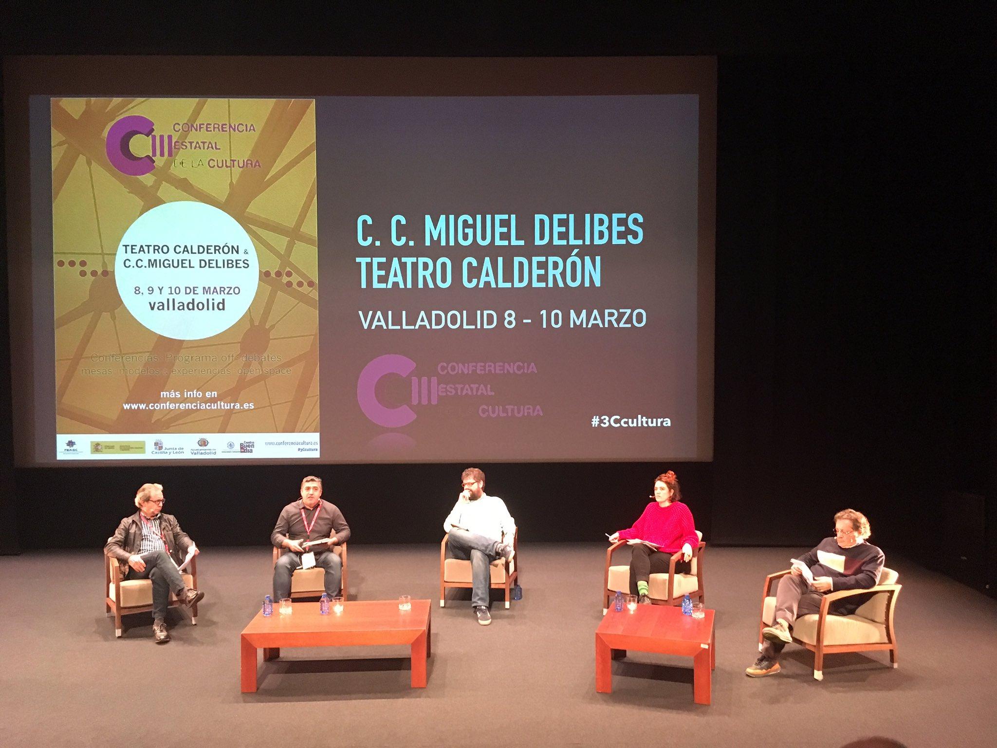 """""""La #cultura nos atraviesa en la vida"""" @satiagoeraso en #3ccultura @GesCulCyL https://t.co/8WOP8VkAQp"""