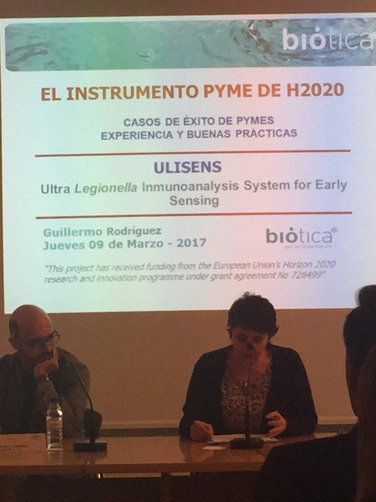 Presentación de @InfoBiotica caso de éxito #instrumentoPyme fase 1 y fase 2 https://t.co/1LdyJN1Zts