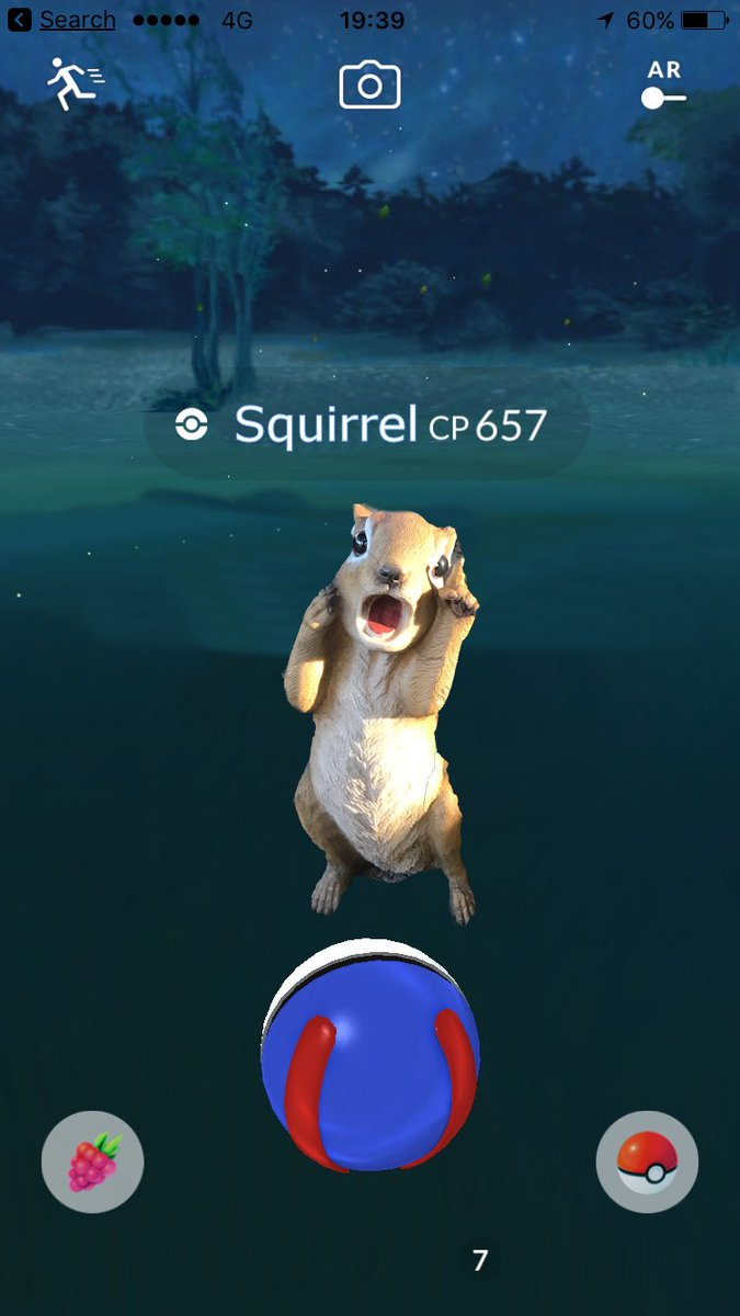 You're going down, #DemonSquirrel... #pokemon #aldi @ALDIAustralia #PokemonGO
