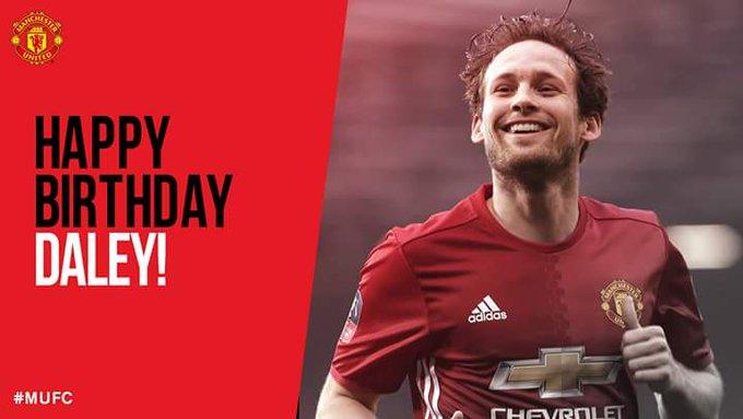 Happy birthday to United defender Daley Blind