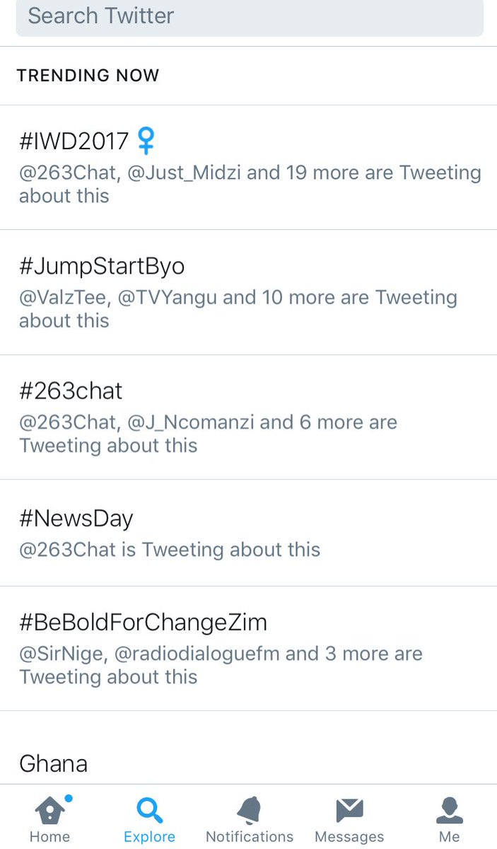 We've been making trends this week. The power of social media is massive #jumpstartbyo @YaliCreatives #SaysValzTee #UmaruTalks https://t.co/D0UgzyE7ge