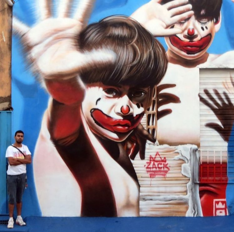 Street Art by Nilo Zack   #streetart #art #arte