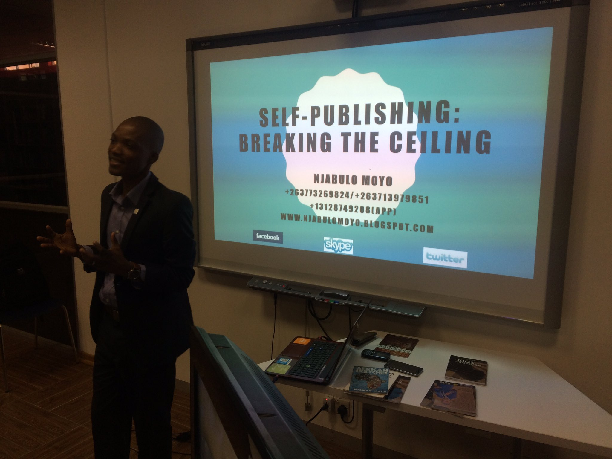 @njabulomoyo Self Publishing Breaking The Ceiling #jumpstartbyo https://t.co/dJlKhRbttq