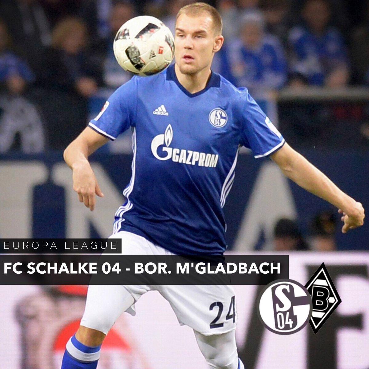 Matchday! 👊 #S04BMG #UEL https://t.co/0T15EkmIdN
