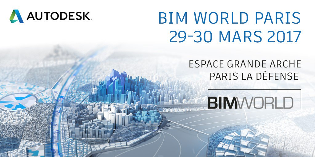 Autodesk, Executive Partner de #BIMWorld, aux côtés de 12 de ses partenaires  https://t.co/uIKRhxX1oN #BIM https://t.co/TvLs6p9Pe0
