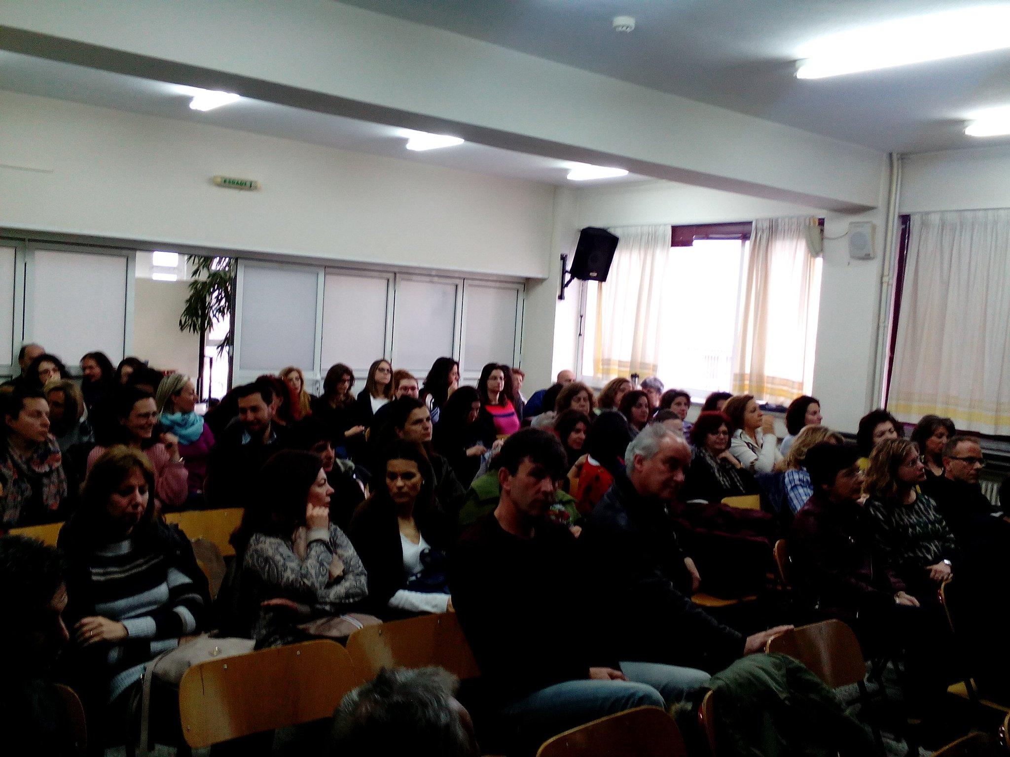#ALLSTEMScientix teachers are ready for learning how use @scientix_eu for #innovation #ict tools #STEMeducation @stemalliance_eu #motivation https://t.co/I76XeBVVKk