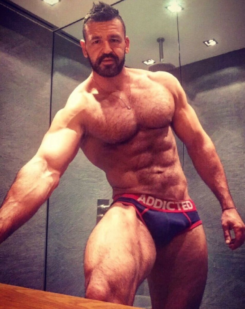 Hot Muscle Hairy
