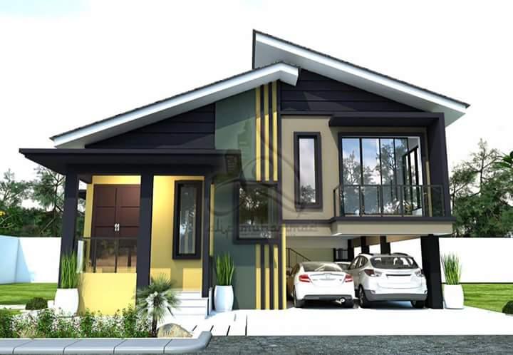 Dinsahran On Twitter Bila Digabungkan Antara Moden Dan Kampung Maka Terhasillah Design Rumah Yang Cantik Ni Sumber Facebook