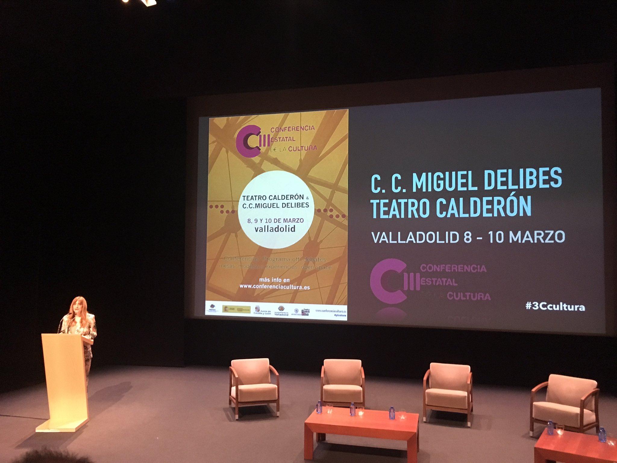 """""""La cultura es la principal herramienta para la integración de todos"""" Arrancamos en #3cCultura @GesCulCyL https://t.co/YwRqa5u4sT"""