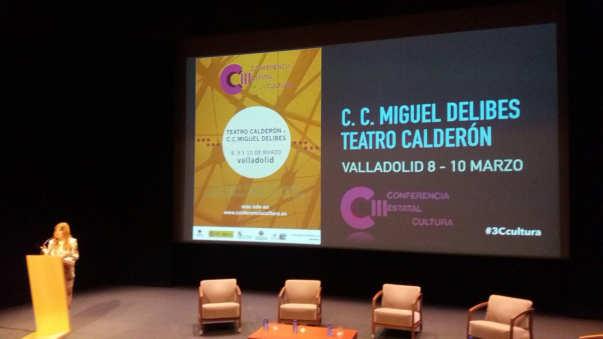 """#3Ccultura Mar Sancho: """"Estamos elaborando el II Plan de Industrias Culturales. Clave el diálogo y la diversidad"""". https://t.co/jwdlctgsDQ"""