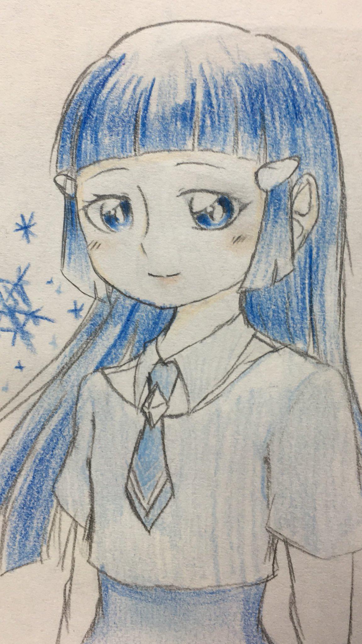 蜜柑丸🍊 (@JIcmt)さんのイラスト