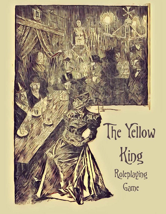 Officially announcing the Yellow King Roleplaying Game https://t.co/uAah7rAbpd https://t.co/nrBDNr5UXL