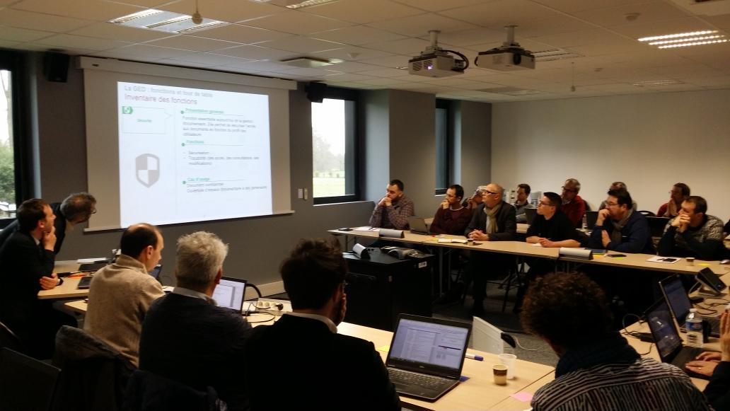 Une vingtaine de collectivités bretonnes réunies lors de la 1e réunion du groupe