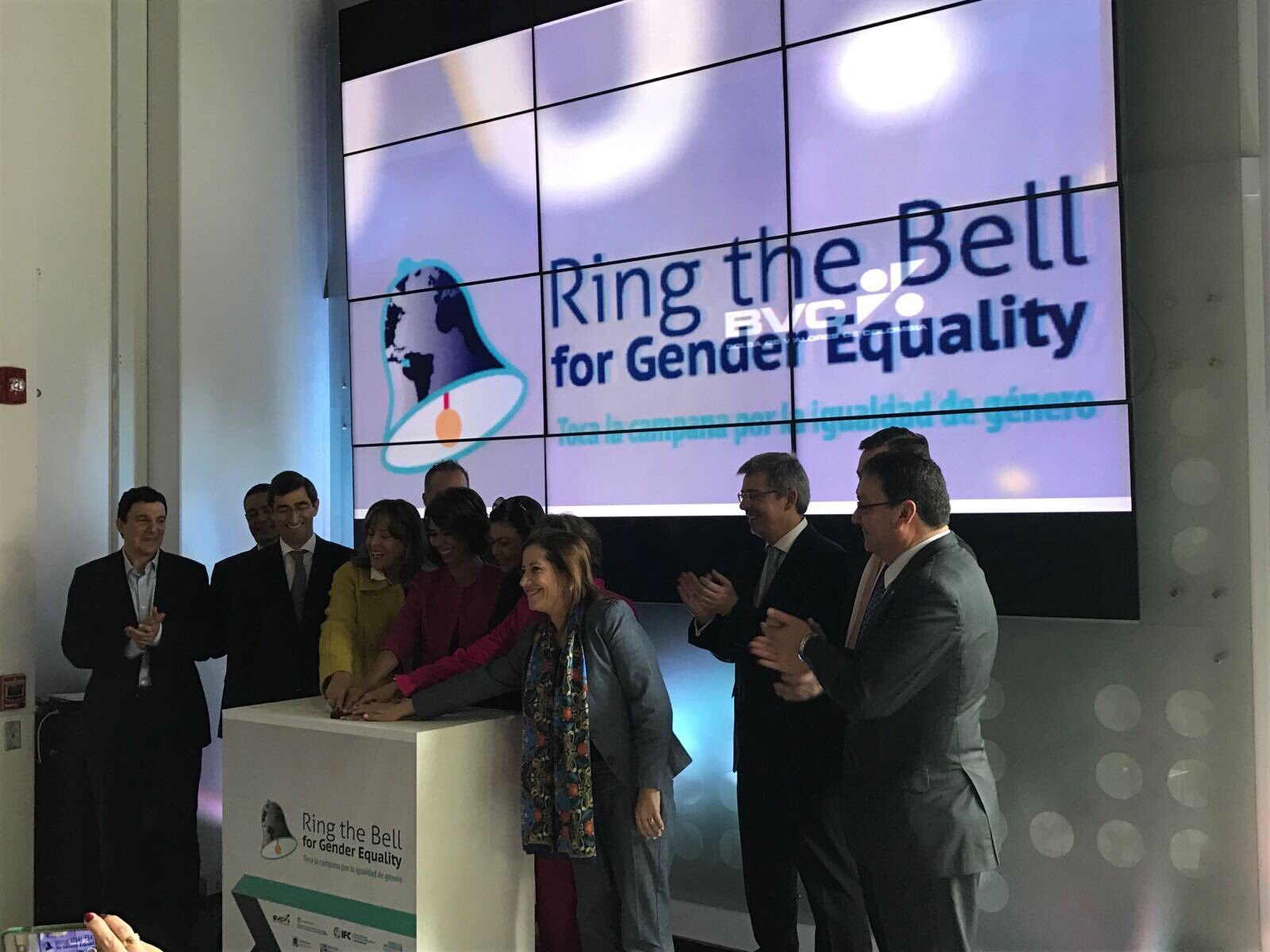 Congratulations @BVCColombia @IFC_LAC & SECO 🇨🇭 for a successful #genderbell Colombia 🇨🇴 - #CorpGov #IWD2017 #GobCorp #RingtheBell https://t.co/lBgyw4e7Ed