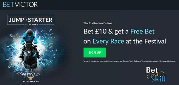 BetVictor horse racing betting bonus