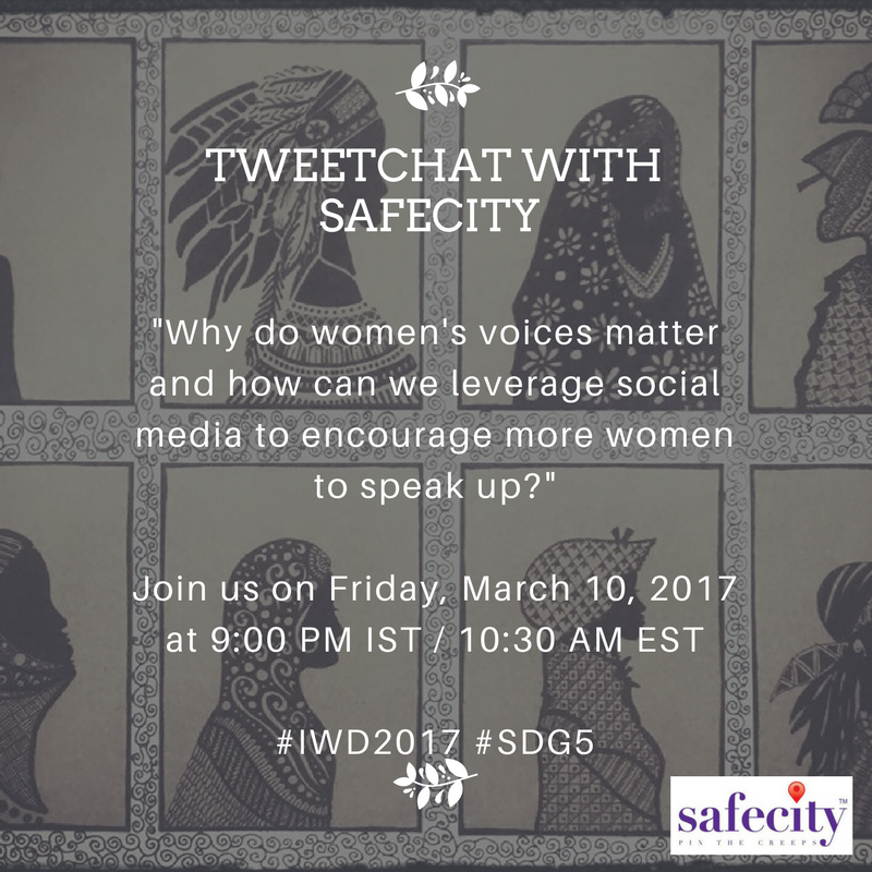 Welcome to our TweetChat on why women's voices matter! #IWD2017 Take a moment to introduce yourself :) https://t.co/n6LB8f6042