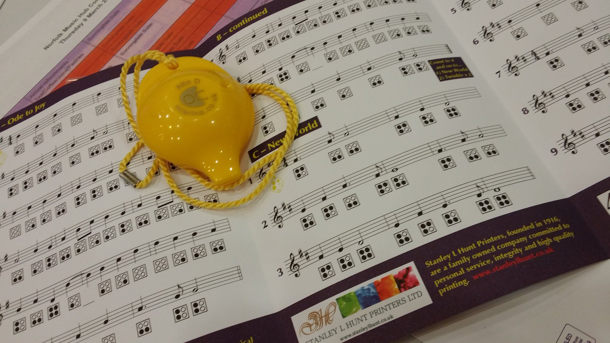 Just learned to play the ocarina at @NMHub #nmhubexpo @OrmistonVenture https://t.co/tD96uQlFRf