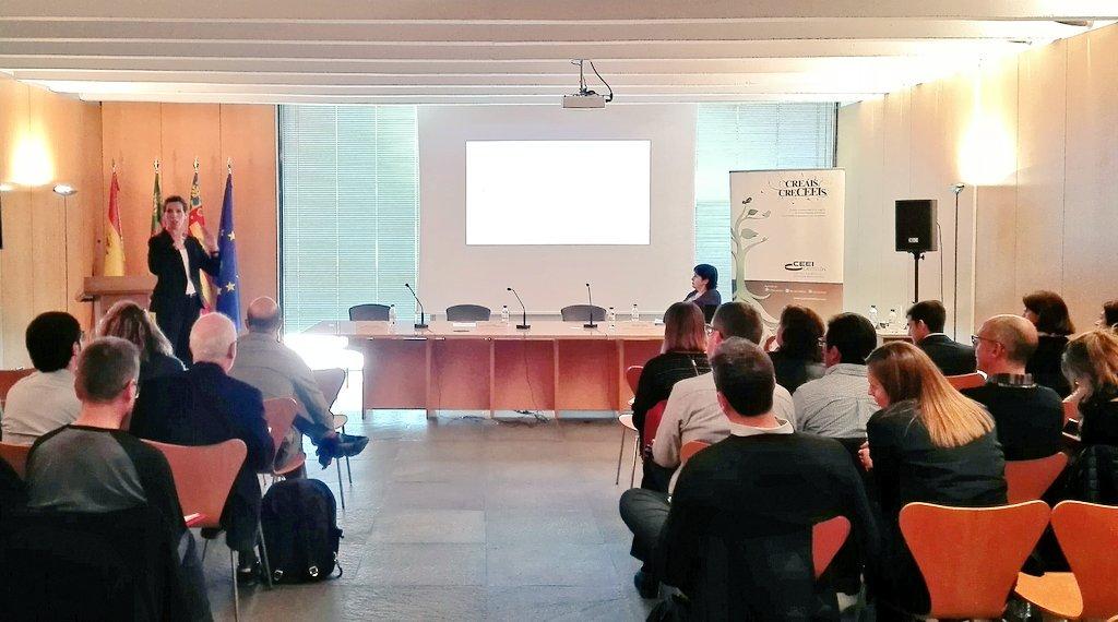 ¿Cómo conectar con los evaluadores de tu proyecto? Elvira Martín nos da las claves #exito #innovacion #financiacion #instrumentoPYME #H2020 https://t.co/8TKV3DjeW7