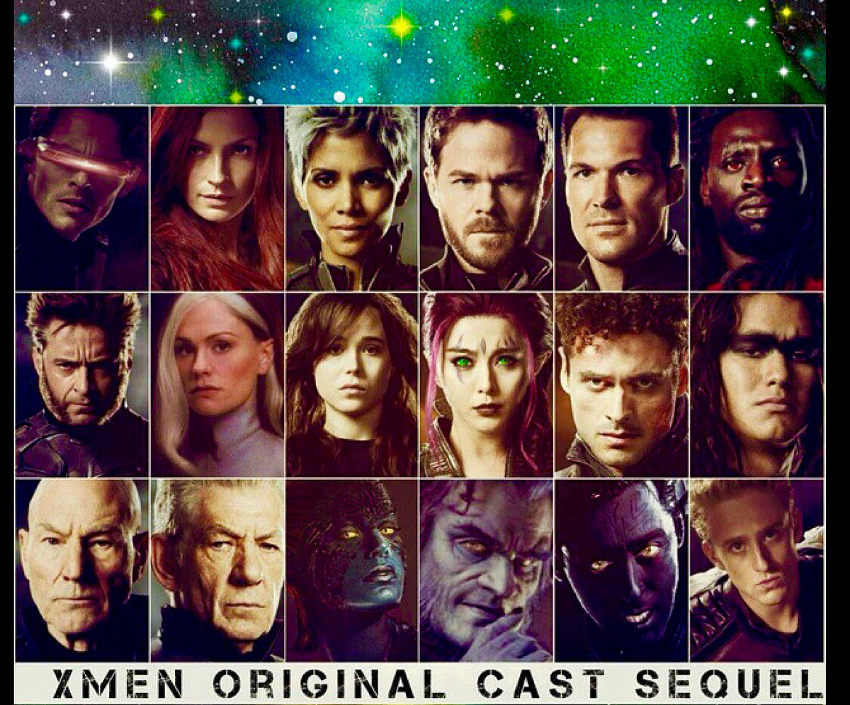 x men original cast on twitter logan is a fantastic movie please