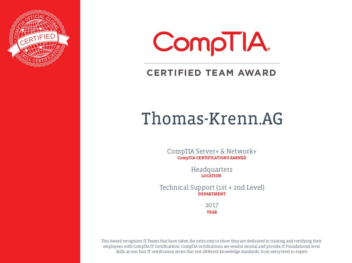 Thomas Krenn On Twitter Zertifiziertes Know How Wir