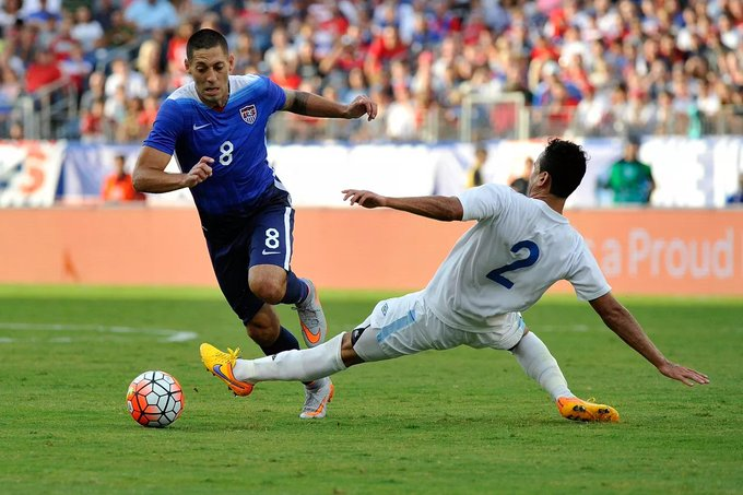 Happy 34th birthday to Clint Dempsey of the USMNT! (130 caps, 52 goals)