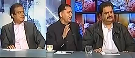 Kal Tak  - 9th March 2017 - Murad Saeed Aur Javed Latif Ki Larai thumbnail